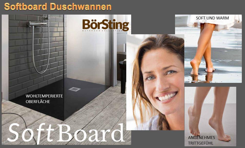 softboard duschwannen diwo glas bad. Black Bedroom Furniture Sets. Home Design Ideas